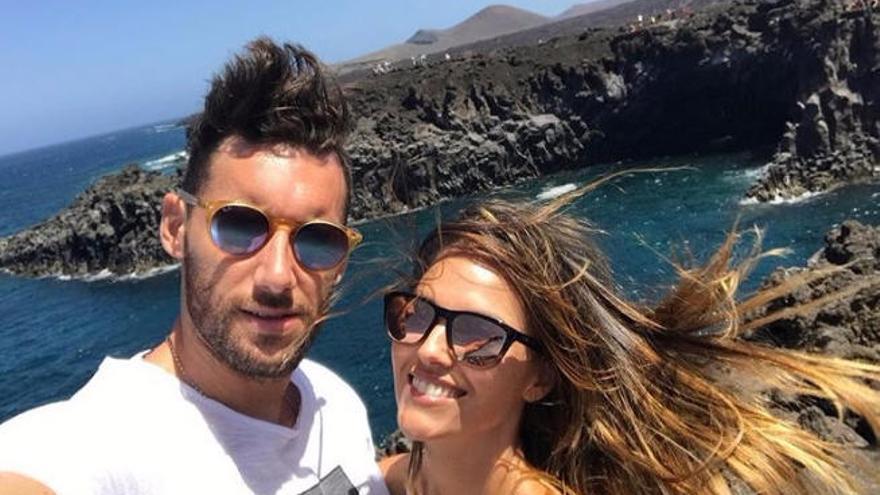 Helen Lindes y Rudy Fernández disfrutan de la Isla con su bebé