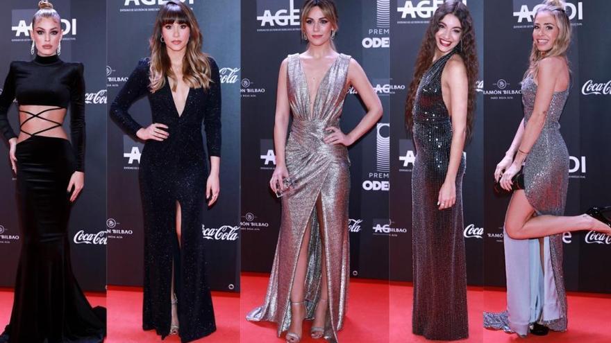 Los 'looks' más destacados de los Premios Odeón