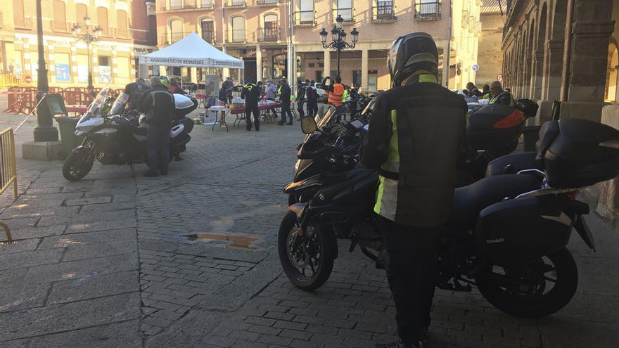 El rally turístico Ruta de la Plata recala en Benavente