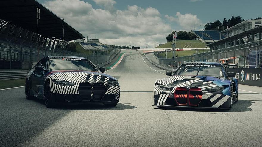 BMW muestra el M4 y el M4 GT3 por primera vez en el Gran Premio de Estiria de MotoGP