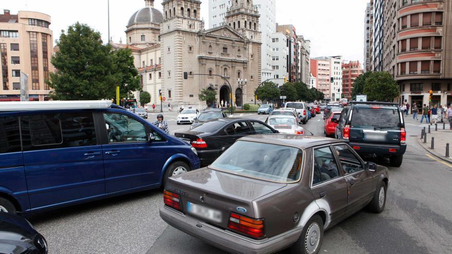 Oviedo, entre las tres ciudades europeas menos congestionadas y la segunda con menos atascos en España
