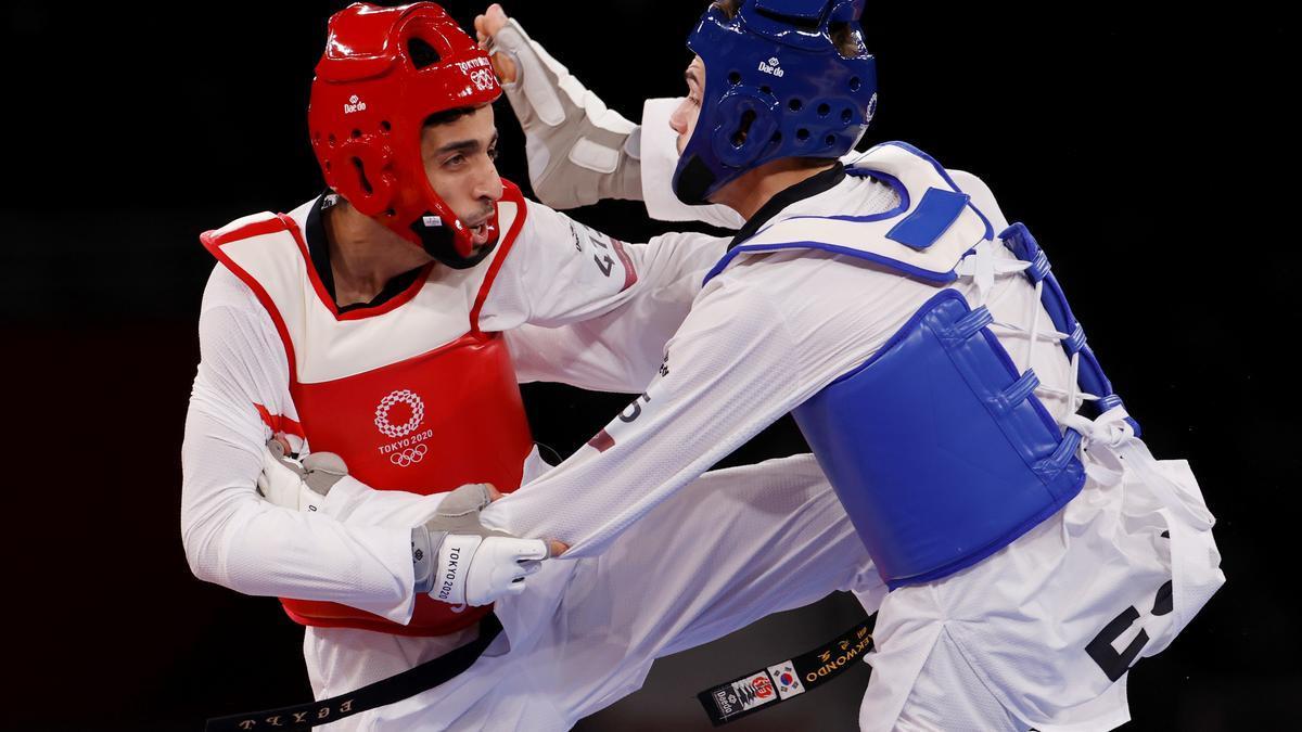 El español Javier Pérez se queda sin opción al bronce y se despide de Tokio.