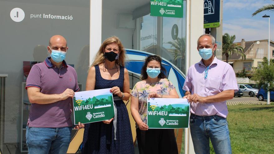 El Ayuntamiento de Castelló activa wifi gratuito en las playas del Pinar, Gurugú y Serradal
