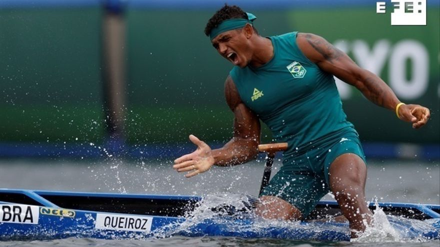 Isaquias Queiroz se lleva el oro olímpico en el C1 1000 para Brasil