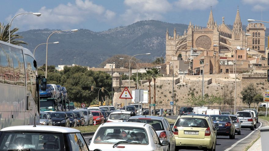 Palma, quinta ciudad española con más atascos