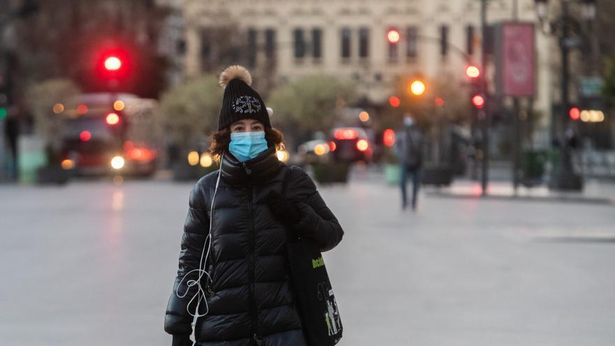 El tiempo en Valencia mañana: Temperaturas bajo cero y sensación térmica muy fría