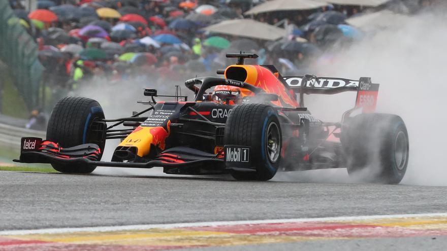 Verstappen gana la carrera más corta
