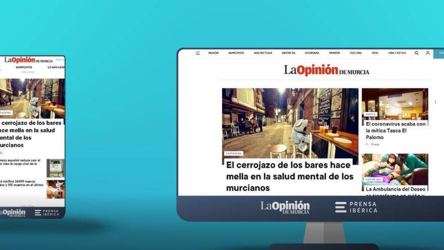 La Opinión de Murcia estrena nueva web con un diseño más visual e intuitivo