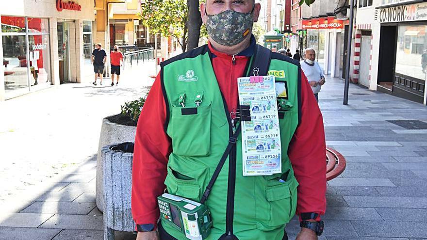 El cupón de la ONCE reparte 350.000 euros en premios en el polígono de Sabón