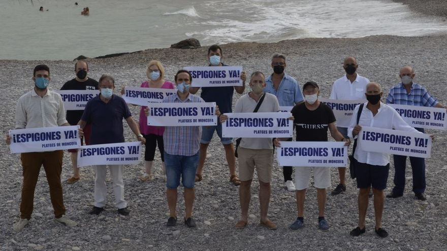 Moncofa fija para el domingo la primera manifestación para exigir los espigones