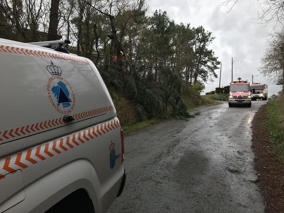 El trabajo de los servicios de emergencia