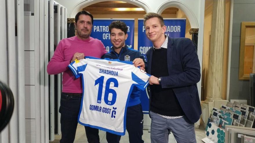 """Samuel Shashoua: """"En cuatro semanas espero poder estar entrenando con el grupo"""""""