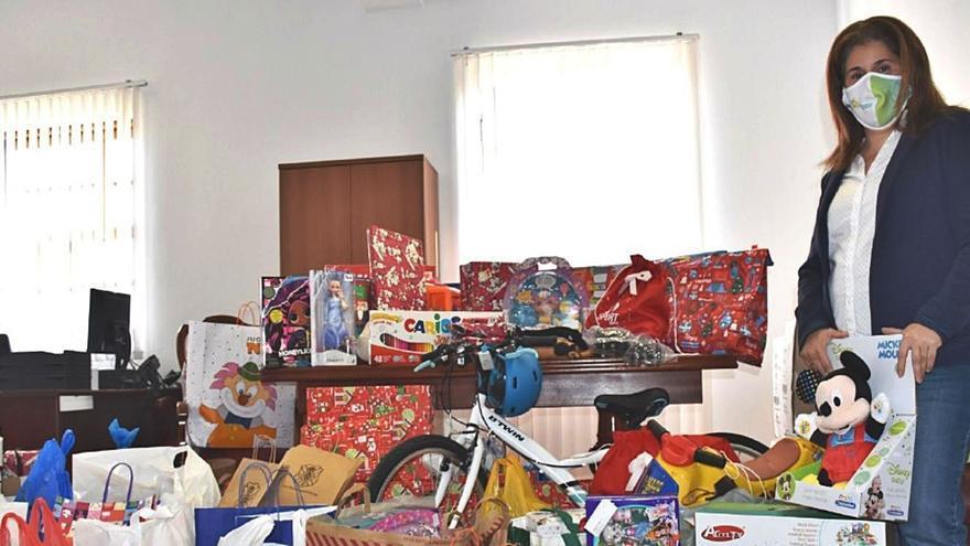 Los regalos para las familias vulnerables