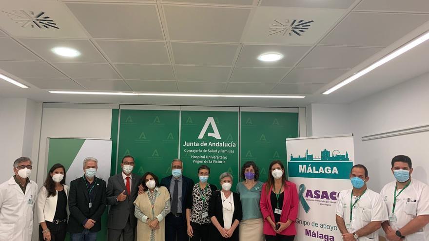 El Hospital Virgen de la Victoria potenciará la actividad asistencial en Onco-Ginecología