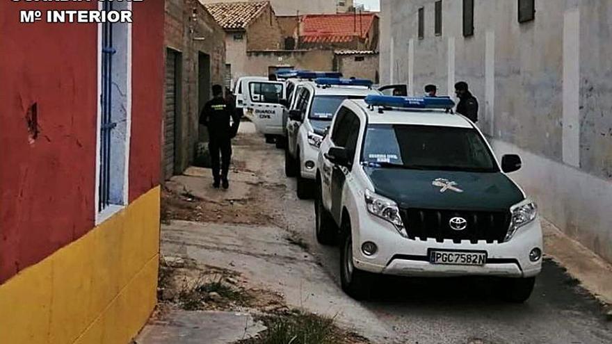 Ocho detenidos tras 6 registros por tráfico de drogas en El Campello