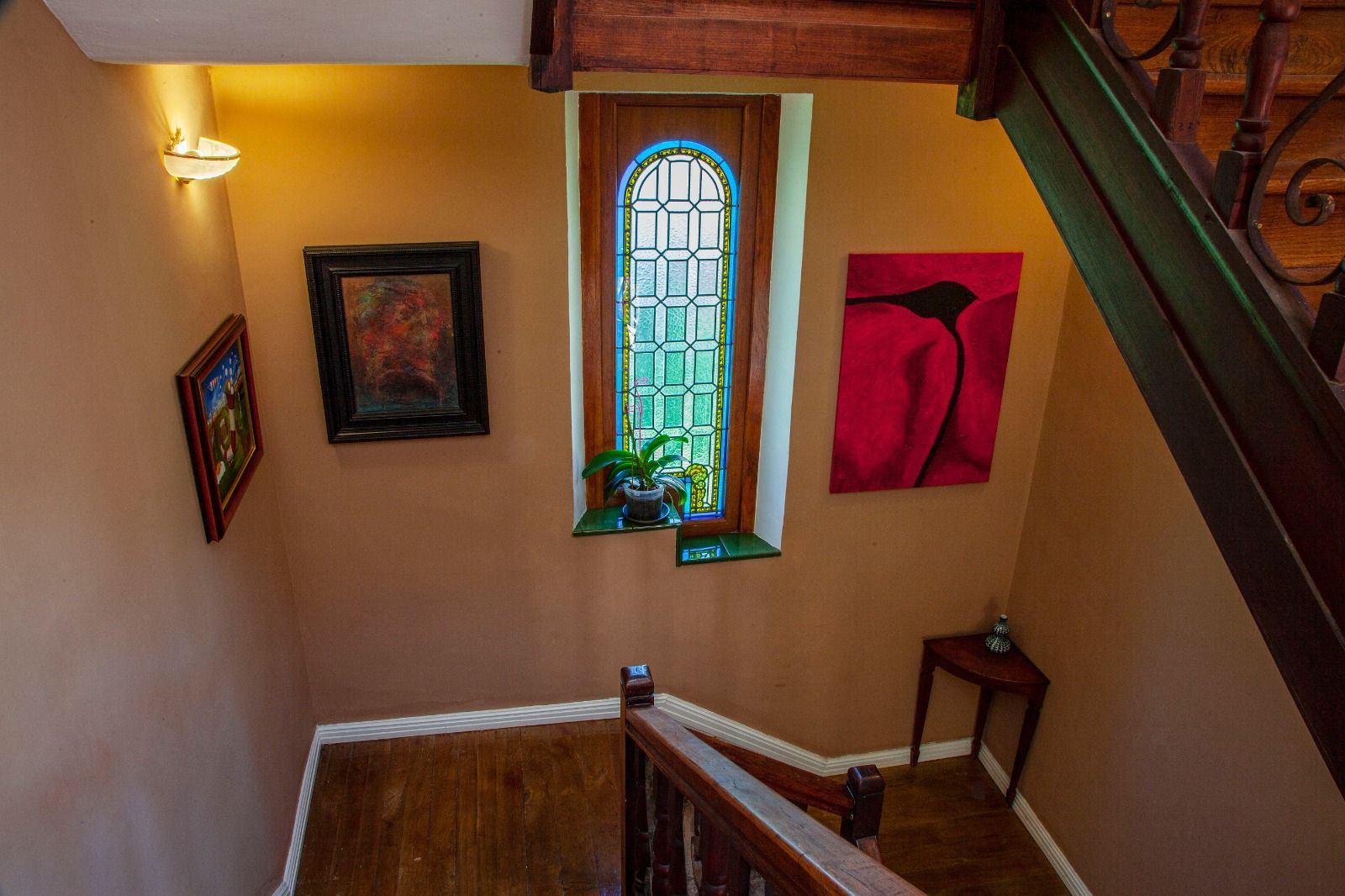 Los recuerdos calcinados en la casa indiana de Sames