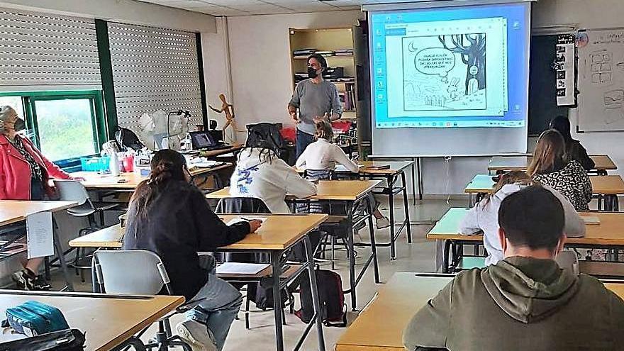Talleres de ilustración para alumnos cambreses