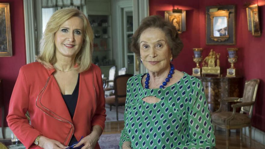 """Nieves Herrero: """"A Carmen Franco le costó superar  los miedos que su madre le inculcaba"""""""