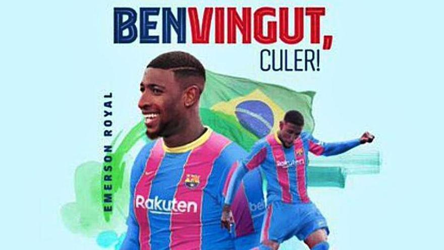 El Barça puede vender a Emerson antes de presentarlo