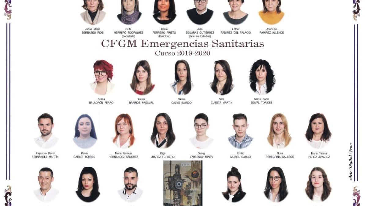 Descarga ya la orla del Grado de Emergencias Sanitarias del María de Molina