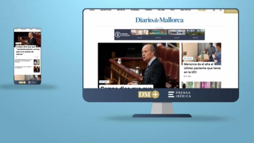 Diario de Mallorca estrena nueva web con un diseño más visual e intuitivo