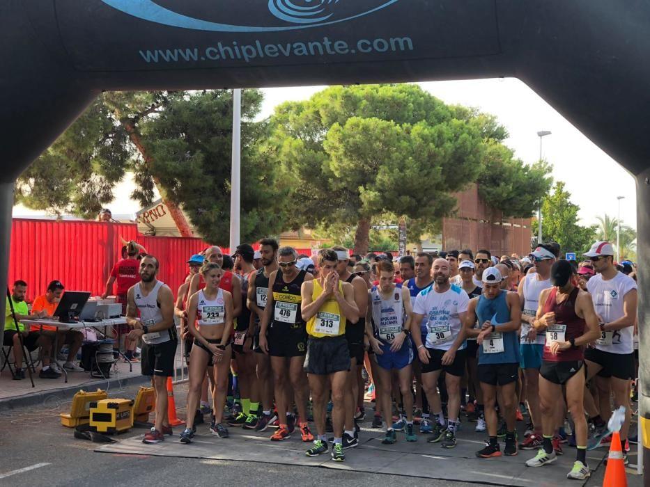 Media de media maratón de Torrellano y paellas