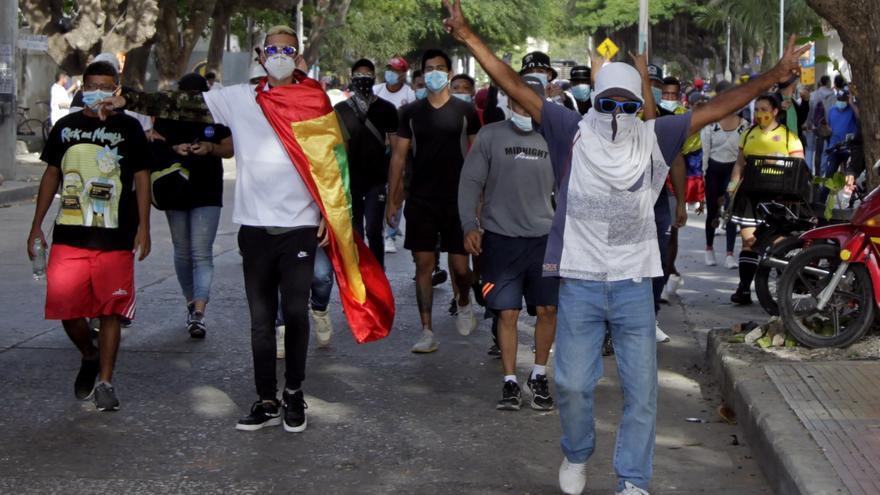 Fallece otro colombiano en una jornada de disturbios
