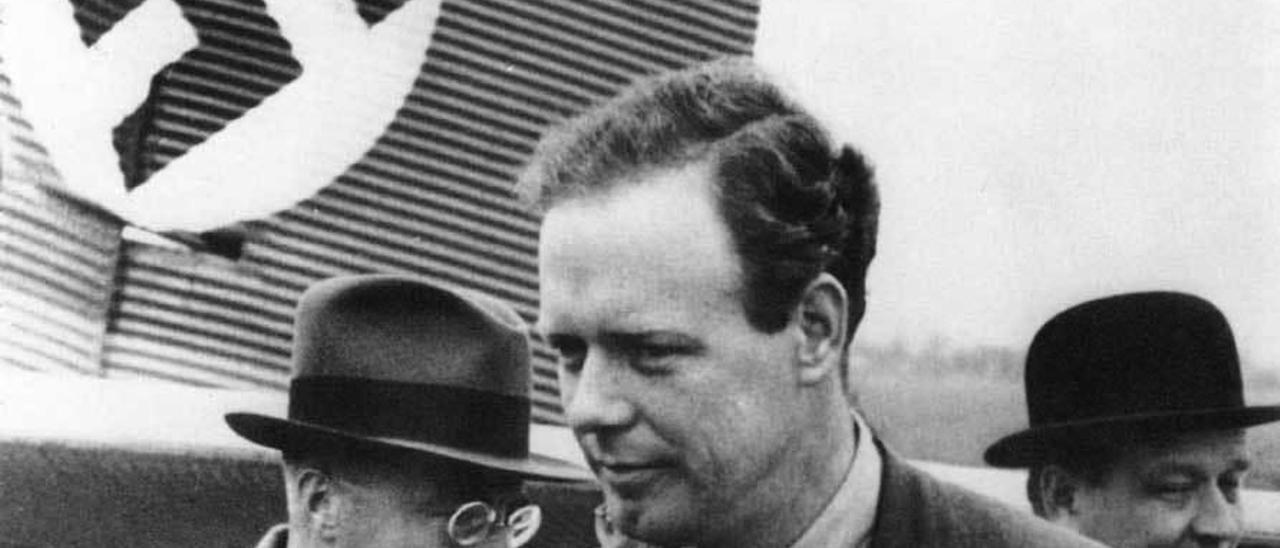 Charles Lindbergh, en Alemania.