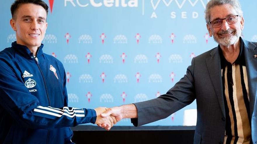 El Celta hace oficial el fichaje de Franco Cervi por cinco temporadas