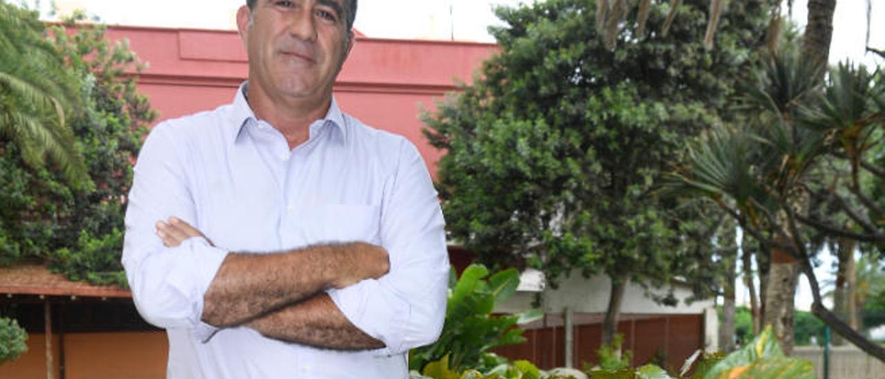 Francis Candil, portavoz de CC - UxGC en el Ayuntamiento de Las Palmas de Gran Canaria.