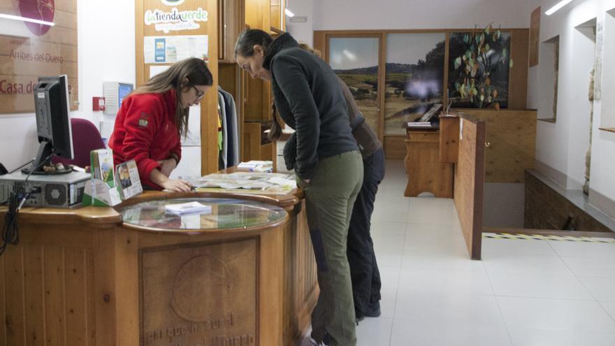 La Casa del Parque de Arribes, en Fermoselle, organiza actividades de naturaleza