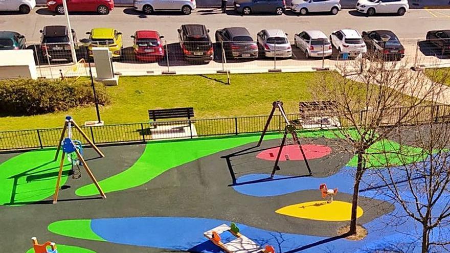 Sada abre el parque infantil de As Brañas tras su ampliación