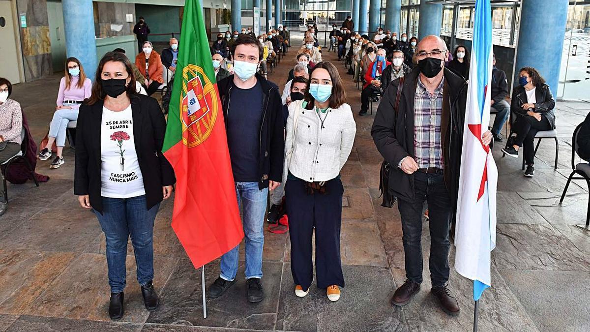 El BNG celebra la Revolución de los Claveles  | VÍCTOR ECHAVE