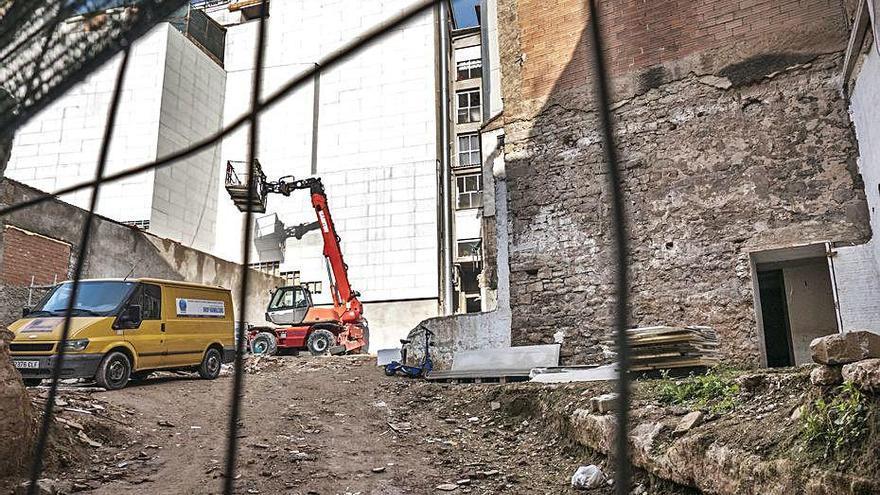 Habilitaran un aparcament pensat per als botiguers del sector del carrer Vilanova