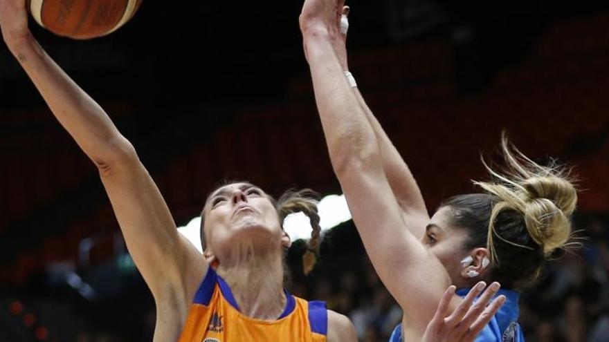 El Valencia Basket femenino, cerca de la Copa