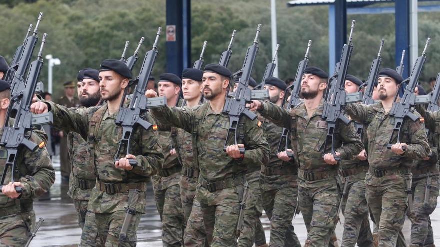 Unos 200 soldados de Cerro Muriano parten esta madrugada en misión internacional a Letonia