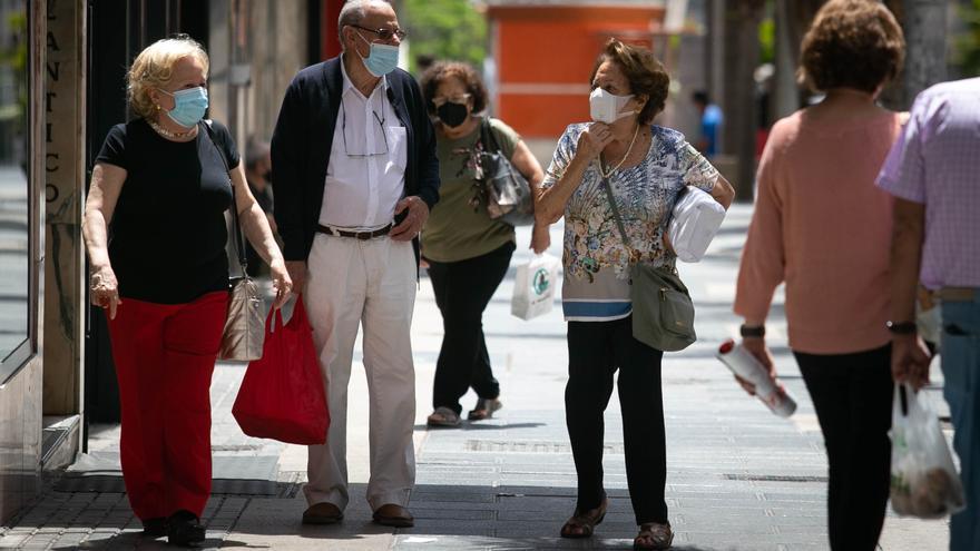 La incidencia acumulada en Canarias, a niveles de agosto de 2020