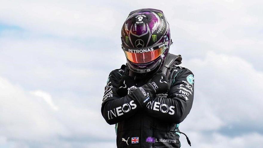 Solo la lluvia puede complicarle la victoria a Hamilton en Spa