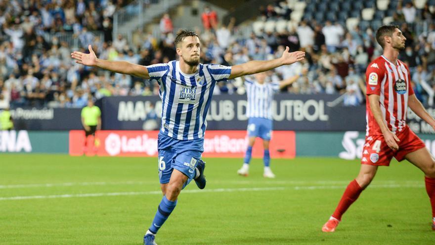 La Rosaleda sigue marcando el camino (1-0)