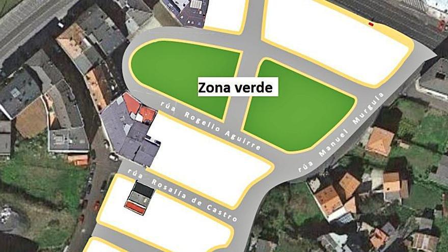 Arteixo creará un parque, urbanizará tres calles y habilitará una rotonda en Candame