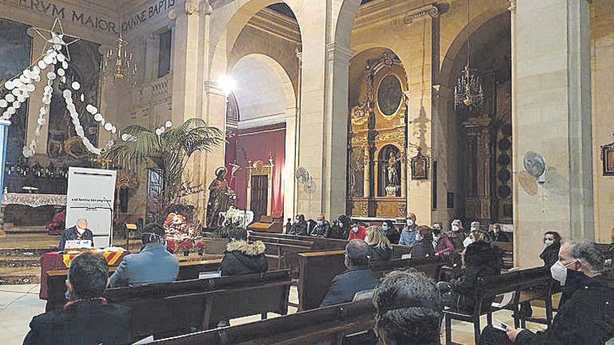 Presentan el 'Pronòstic santjoaner' dedicado al maestro Josep Roig
