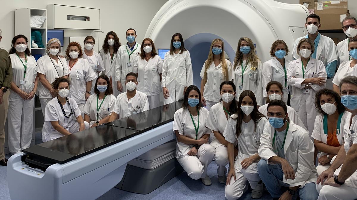 Unidad de Oncología Radioterápica y Radiofísica Hospitalaria del Hospital Clínico de Málaga, reconocida por su calidad asistencial