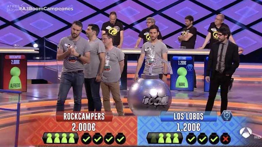 Los Lobos perden contra els Rockcampers a «Boom!»