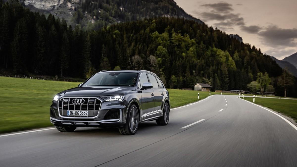 Los Audi SQ7 y SQ8 estrenan un nuevo motor V8 de gasolina de 507 CV