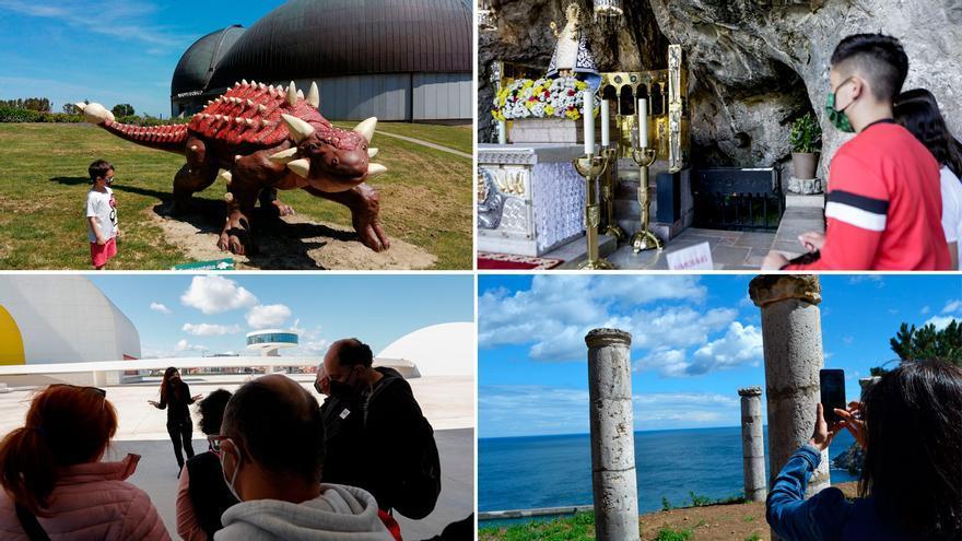 Un jardín, unos lagos, un Real Sitio y otras ideas para tener en cuenta de Asturias en Semana Santa