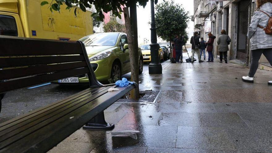 Herida grave una mujer apuñalada por su pareja en Vigo