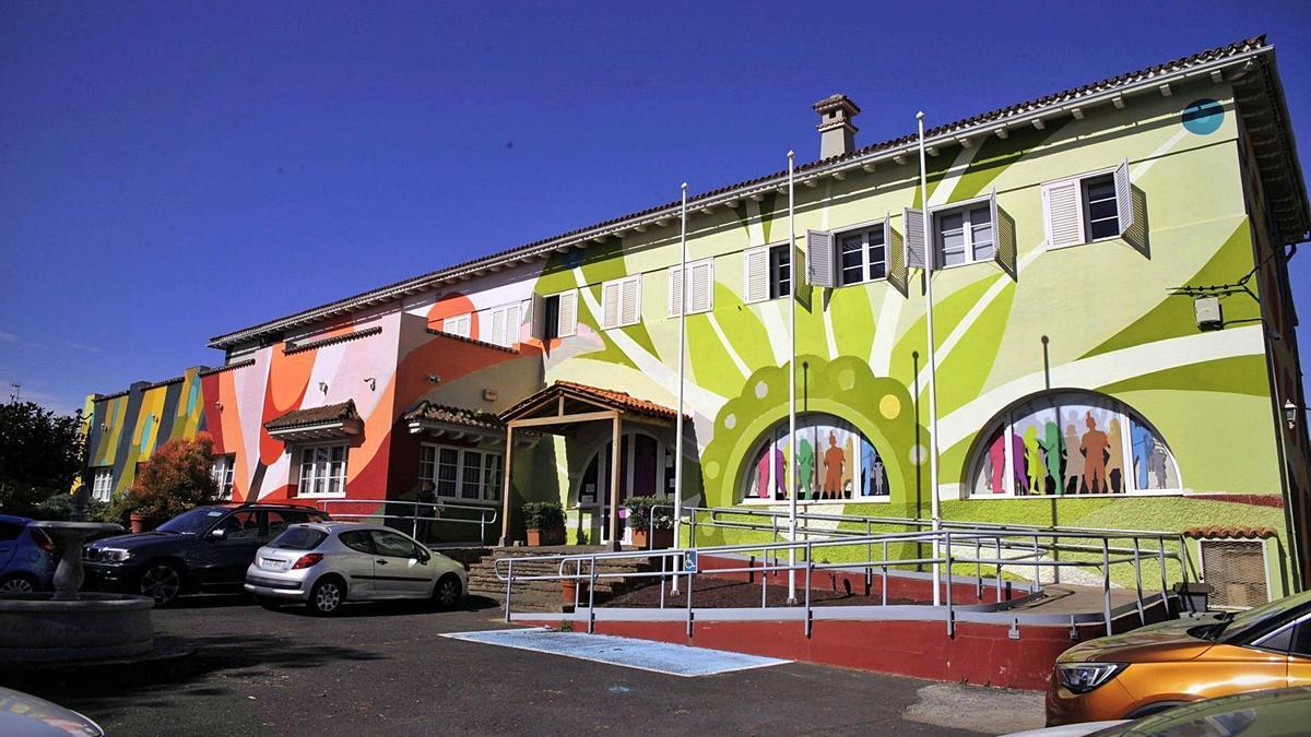 Sede del Centro Atlántico de la Juventud, en La Laguna.