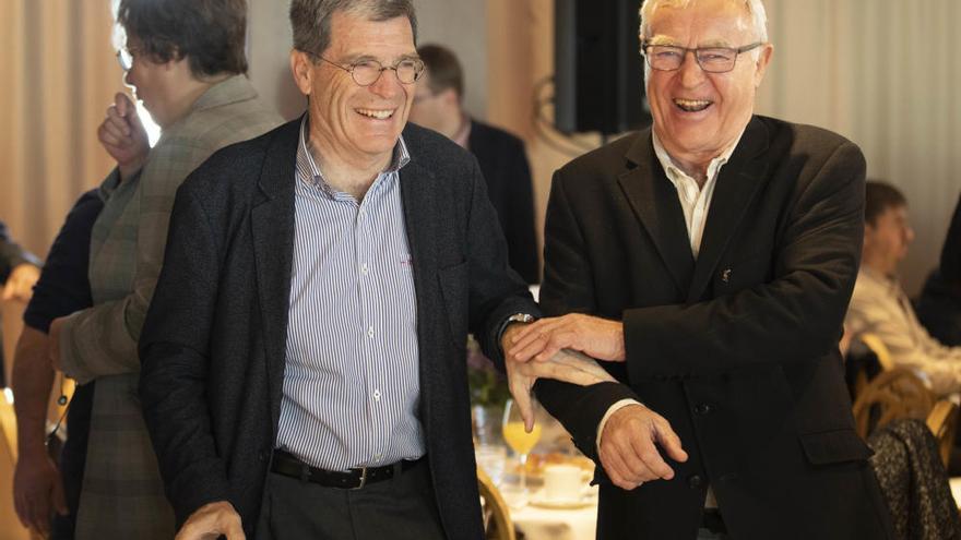 El conseller España propone que los puertos reviertan parte de sus beneficios a las ciudades
