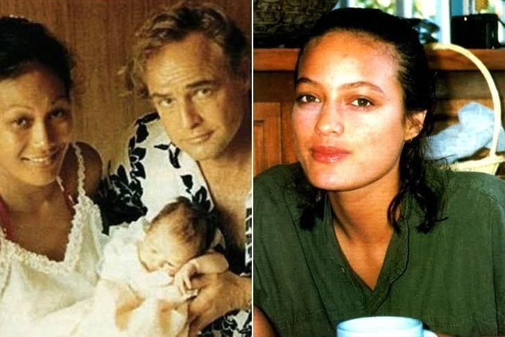 Una de las hijas de Marlon Brando, que también tuvo 11. Reconocidos...