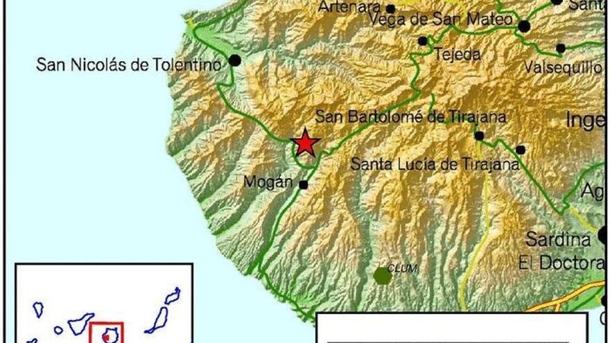 Terremoto en Gran Canaria
